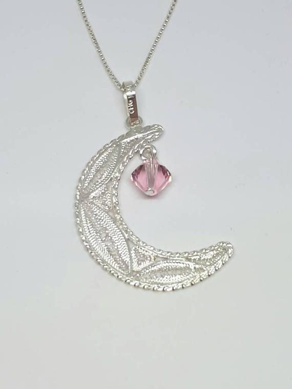 Check out this item in my Etsy shop https://www.etsy.com/uk/listing/580527780/silver-moon-pendant-moon-necklace-moon