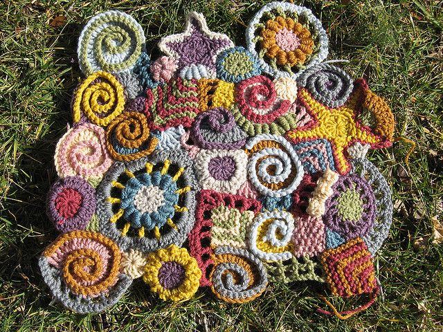 Freeform crochet - beautiful!!