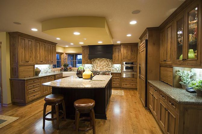 Painted soffit over island kitchens and pantries galore for Large island with seating
