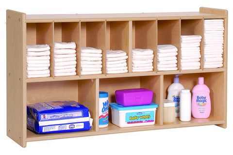 Free Shipping. Wall Diaper Shelf | Honor Roll Childcare Supply - Early Education Furniture, Equipment and School Supplies.