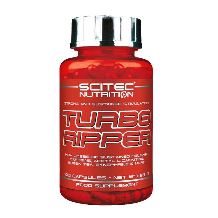 A Loja das Proteínas apresenta o Suplemento Desportivo Turbo Ripper da Scitec Nutrition ALTAS DOSES DE CAFEÍNA DE LIBERTAÇÃO SEQUENCIAL, ACETIL L-CARNITINA, CHÁ VERDE, SINEFRINA E MAIS!  TURBO RIPPER dá-te muitos dos ingredientes que conheces e adoras - em doses significantes! Temos L-Carnitina mas não apenas da normal, mas também da mais complexa Acetil L-Carnitina (ALC) numa mega dose - provavelmente não quererás tomar Carnitina separadamente!  Nem terás de tomar qualquer um dos outros…