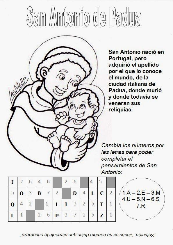 El Rincón de las Melli: Santos A - B