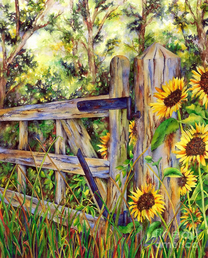 935 best small landscape paintings images on pinterest for Best paint for yard art