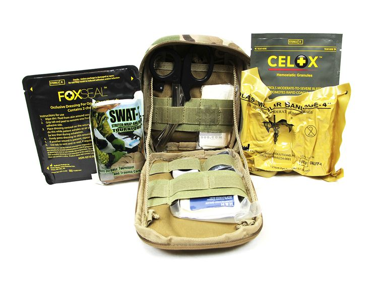 Tactical Emergency Personal Injury Kit (EPIK)