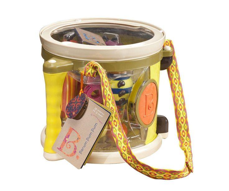 Tambor para niños Parum pum pum y todos los accesorios tu hijo(a) pasara divertidas horas jugando con los accesorios que trae el tambor, adicional a esto podrá divertirse creando sonidos a su propio ritmo