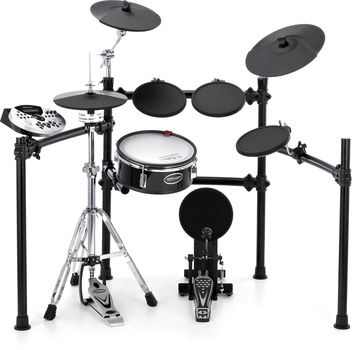 Millenium MPS600 Professional Mesh Set Extended with one tom tom- and symbal pads and snare  stand