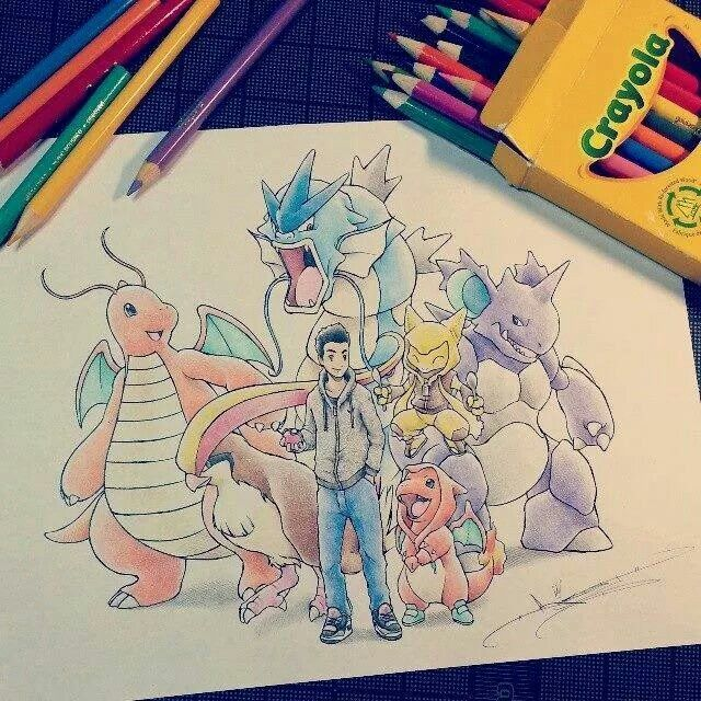 Pokemon sketch by itsbirdy