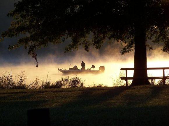 bass fishing...