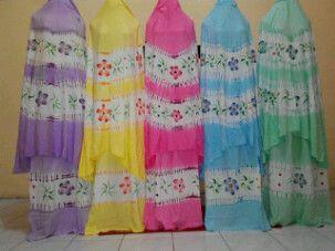 Mukena Tie Dye Kamboja  1pc pink, grab it fast dear ;) text 08111031031