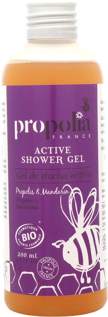 Propolia - Organiczny aktywny żel pod prysznic Propolis & Mandarynka BeeYes