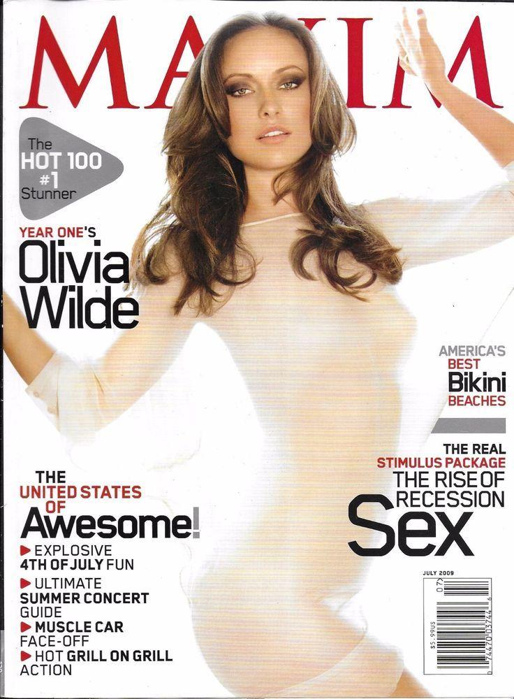 Maxim magazines top sex gods