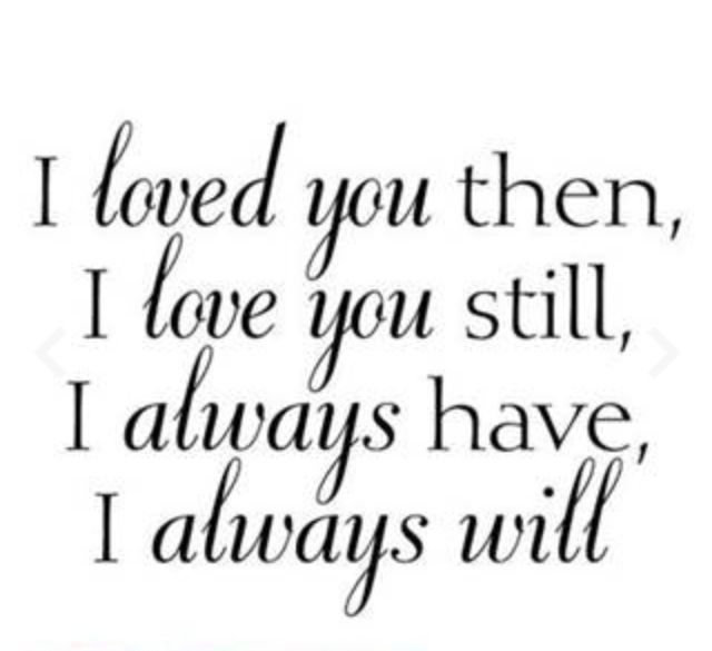 I Still Love You Quotes: High School SweetHearts!!
