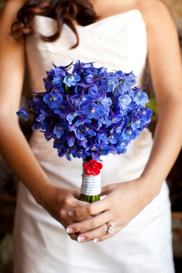 Red, White and Blue Wedding Ideas - 4th of July Inspired Wedding Brought by Camellia Wedding Flowers and Siegel Thurston Photography