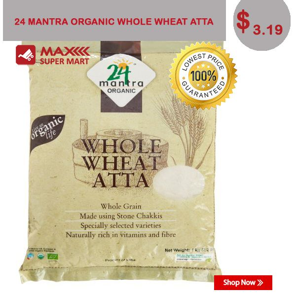 Buy Now:http://bit.ly/Maxsupermart-whole-wheat-atta