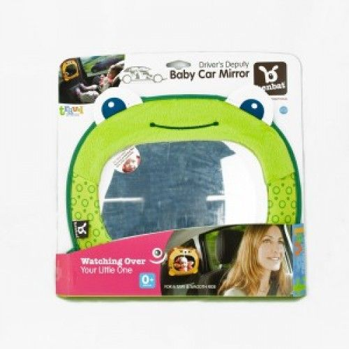 Benbat Travel Friends Baby Car Mirror in Frog or Lion $35.00  online at www.smittysbabygeargalore.com or in store.