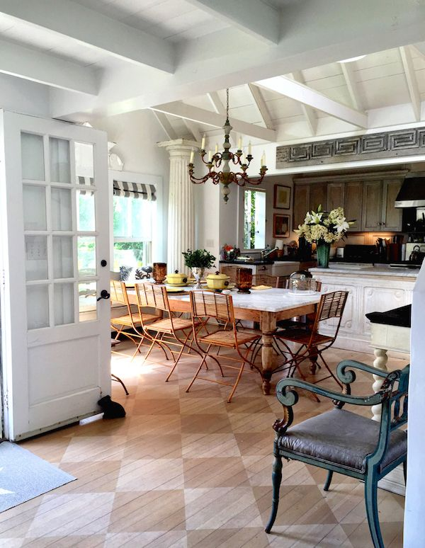 Cynthia Everets Nantucket Kitchen: Loving The Checkerboard Easy On The Eyes  Flooring