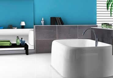 Adding a splash of colour to your bathroom by either painting one of the walls a striking colour or decorating the area  with colourful accessories can really add a unique touch to your bathroom.
