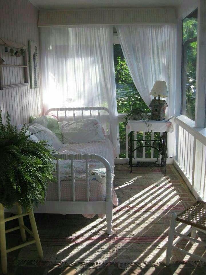 Sleeping porch!