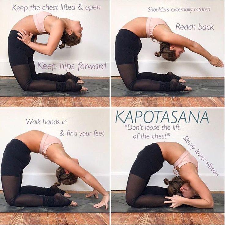 Calling all backbenders! I know Kapotasana is one of those postures we dream of … – Jojo Leo