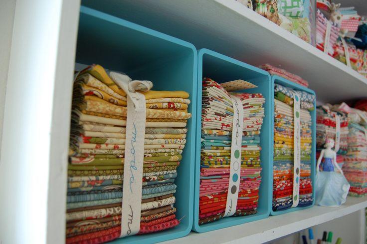 Moda Bake Shop: Studio Tour: Vintage Modern Quilts #modabakeshop #modafabrics #lovepinwin