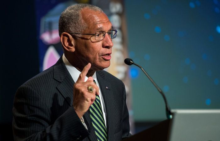 Bolden grew up in segregated South Carolina. One of his state senators, Strom Thurmond, blocked his efforts to get to the Naval Academy, but a Hail-Mary letter to Lyndon Johnson helped him get there.