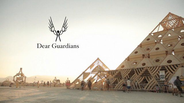 "Since 2002, the Guardians have held an integral role at the Temple of Burning Man. They have remained largely invisible, holding space from the shadows. Until now.    Directed by VISION WEAVER  http://ianmack.com Music by HIATUS  https://soundcloud.com/hiatus  Additional footage  ROY TWO THOUSAND  http://roy2k.com MATIAS SEVEN CLOUDS  https://vimeo.com/sevenclouds  Sound design by JEREMY THERRIEN   http://www.jeremytherrien.com  ""The Temple rises apart from Black Rock City, ..."