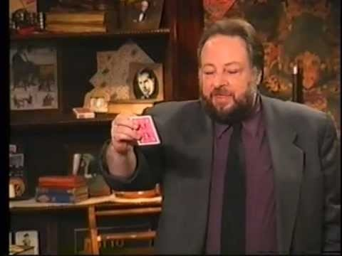 Ricky Jay and His 52 Assistants #Magician, #Illusionist, #Magic, #Illusion