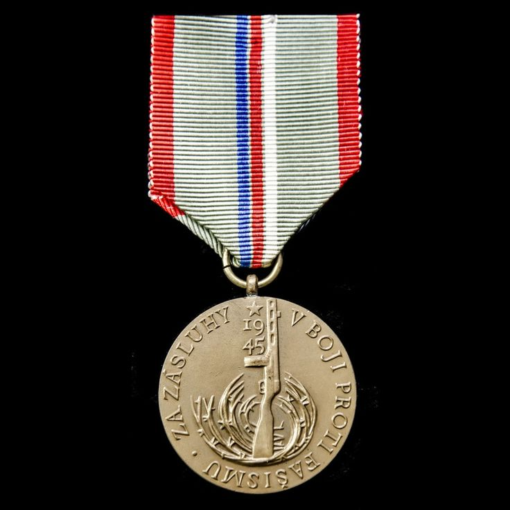 Czechoslovakia: Commemorative Medal for the 20th Anniversary of the Liberation of Czechoslovakia by the Red Army 1965. - London Medal Company - Buy War Medals & Militaria Online