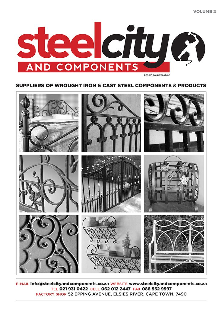 Steel City & Components www.steelcityandcomponents.co.za +27 21 931 0422  52 Epping Avenue, Elsies River, 7490, Cape Town, Western Cape, South Africa