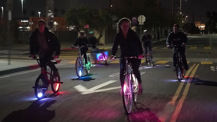 ridiculously easy and fun bike safety.
