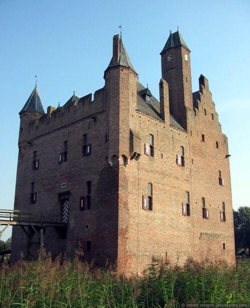 Kasteel Doornenberg, in Nederland. De plaats is in Gelderland. Het type kasteel is een waterburght. De conditie is: Herbouwd/ Verbouwd. Het was vroeger een ruïne. Het bouwconcept is een Donjon buiten weermuren.