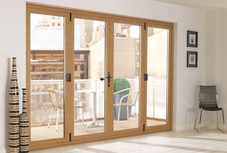 Exterior Folding French Doors | Unplasticised Poly Vinyl Chloride