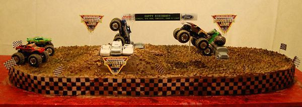 1000 Images About Monster Jam Party On Pinterest
