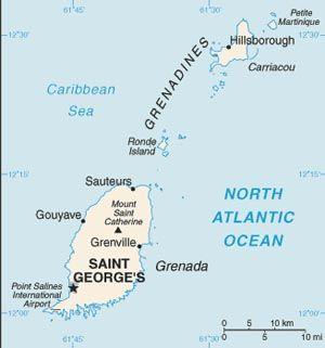 The Best Grenada Map Ideas On Pinterest Grenada Caribbean - Road map of grenada island