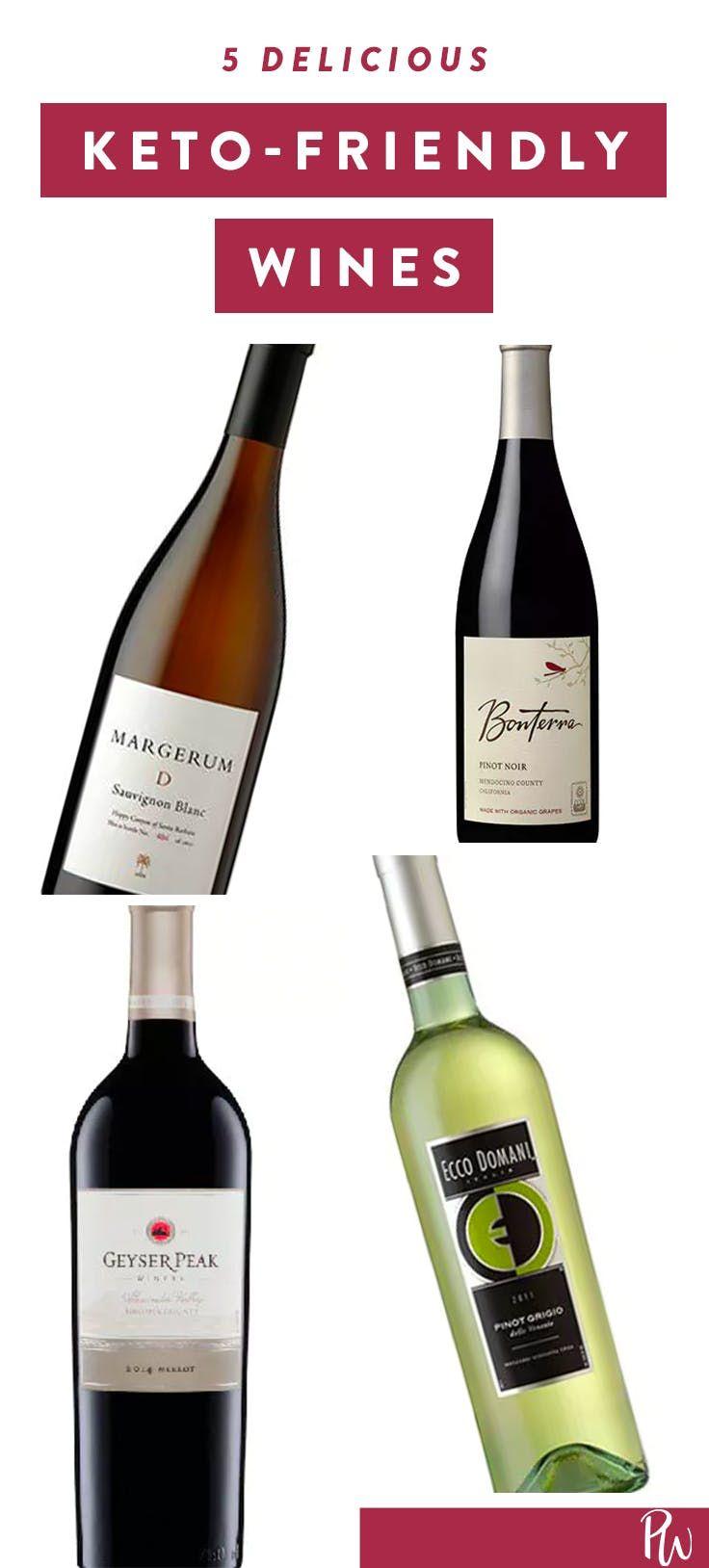 is wine allowed on keto diet?