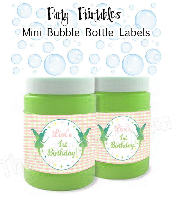 bubble bottle label template - 114 best birthday party ideas images on pinterest