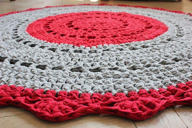 DIY Crochet Rug   Plutomeisje