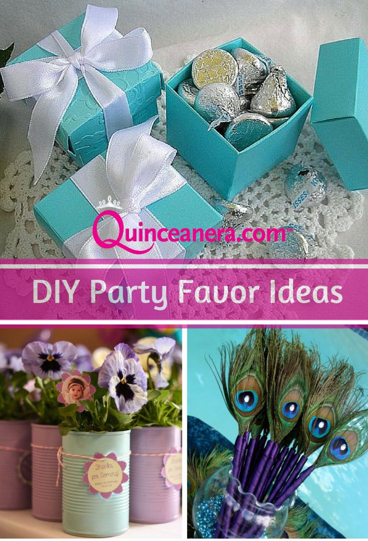 DIY Party Favor Ideas 30 best Quinceanera