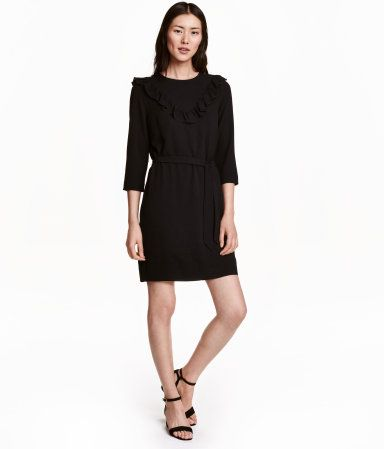 Kurzes Kleid   Schwarz   Damen   H&M DE