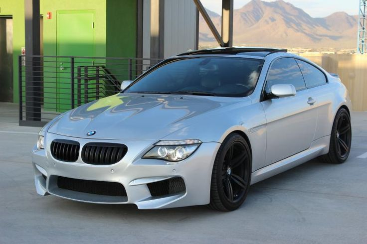 BMW E63 650i with F13 M6 Front Bumper