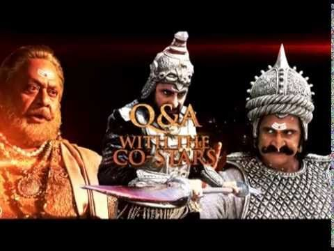 Rudrama Devi Krishnam Raju & Co team Interview  Telugucinemedia