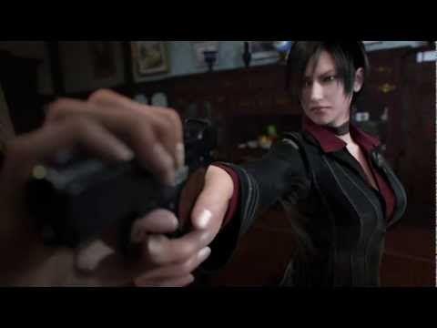 Resident evil damnation ladies fight (Ada Wong VS Svetlana) - YouTube