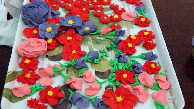 Fleur d'oranger, Masala & Co..: Royal Icing ou glaçage royal pour de jolies fleurs