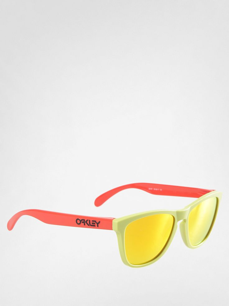 Okulary Oakley Aquatique Frogskins (aspen green/fire iridium)