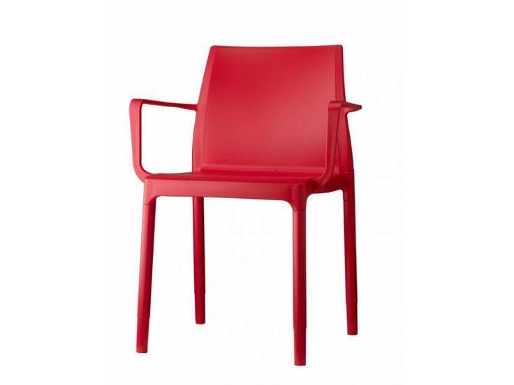 Krzesło Chloe Trend Mon Amour czerwone — Krzesła Machina Meble — sfmeble.pl