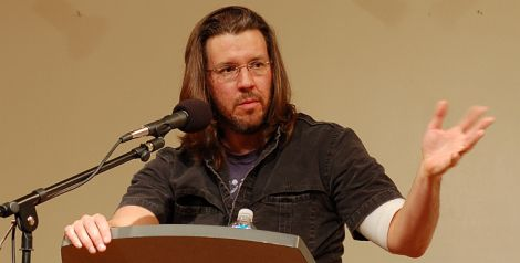 Photograph of the novelist David Foster Wallace