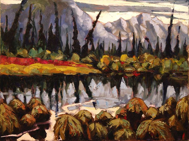 #Yukon in early Fall, when the colours are lush and everything bursting with life before winter's death