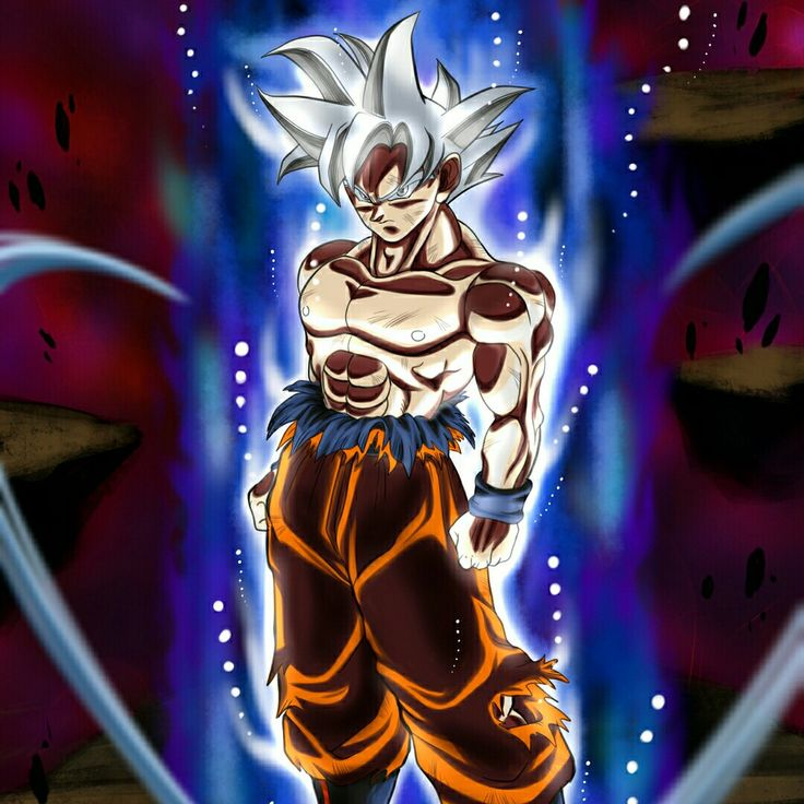 Ultra Instinct Dragon Ball Super Wallpaper: Mastered Ultra Instinct Goku