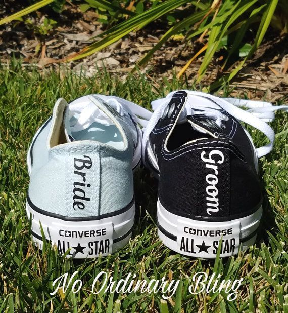 Best 25+ Converse wedding shoes ideas on Pinterest | Personalised ...