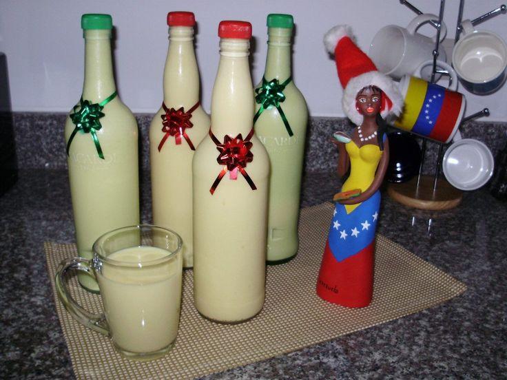 Recuperado de: www.barinas.net.ve Ingredientes: 3 paquetes flan ½litro de ron 4 potes de leches condesadas  Preparación: Preparar los 4 sobre de flan y llevar a refrigerio. Una vez los flanes estén listo, se va colocando en la licuadora poco a poco junto con los 4 potes de leche condesada.